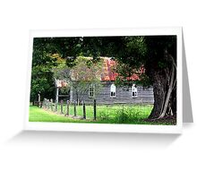 A little church in Brushgrove Greeting Card