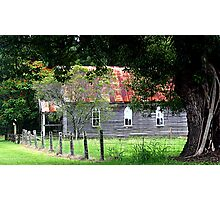 A little church in Brushgrove Photographic Print