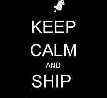 Keep Calm and Ship Snupin by SirRobin126
