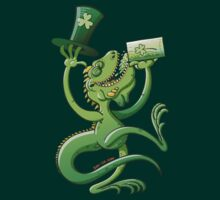 Saint Patrick's Day Iguana by Zoo-co