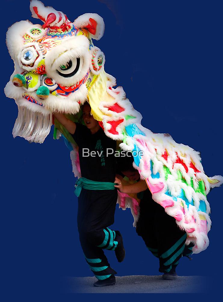 Lion Dancers at Drouin Ficifolia Festival by Bev Pascoe