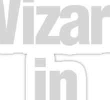 Wizard in Training Sticker