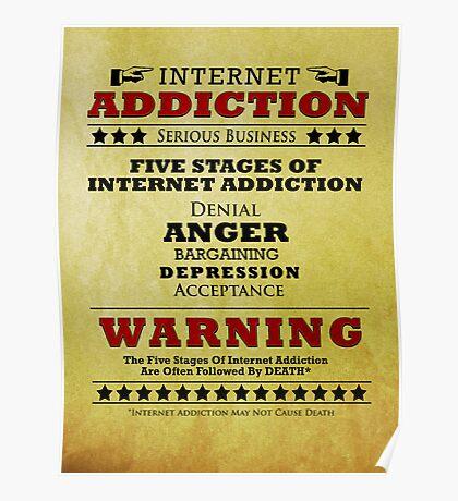 Internet Addiction Poster