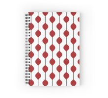 The Droplet Lite - Red Spiral Notebook