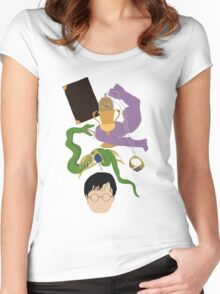 Horcruxes Women's Fitted Scoop T-Shirt