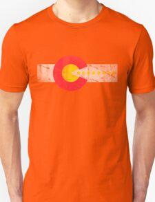 Retro 80s Gamer Flag of Colorado T-Shirt