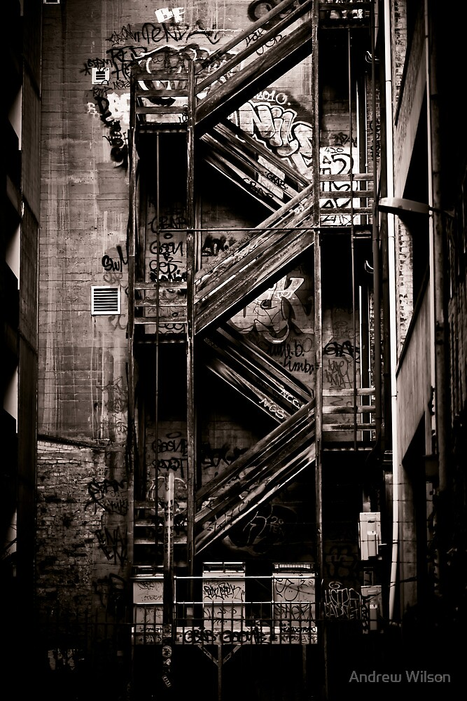 Stairs by Andrew Wilson