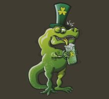 Saint Patrick's Day Tyrannosaurus Rex by Zoo-co