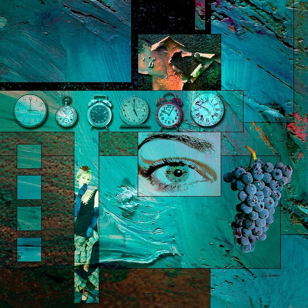 The Memory of Clocks by Van Renselar