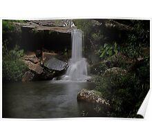 McCarrs Creek Falls Ku-ring-Gai National Park Poster