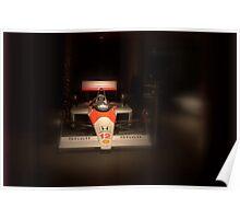 Old McLaren F1 Poster