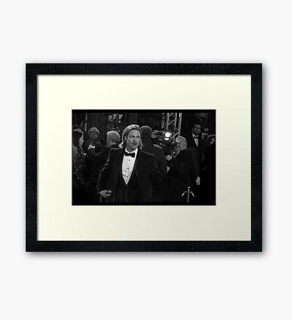 Mr Jolie-Pitt Framed Print