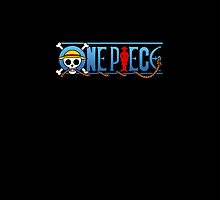One Piece Logo Black by shellsmile