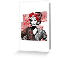 The Devil is a Woman Greeting Card