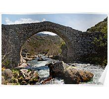 Ponte Romanica,  Castro Laboreiro, Parque Nacional da Peneda-Geres, Portugal Poster