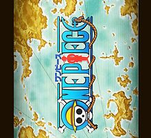 One Piece World Map by shellsmile