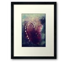 Icy Heart I Framed Print