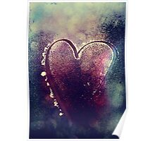 Icy Heart I Poster
