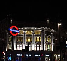 Oxford Circus Underground by Shawn Parkes