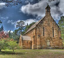 St Francis Xavier Catholic Church, Berrima, NSW, Australia by Adrian Paul
