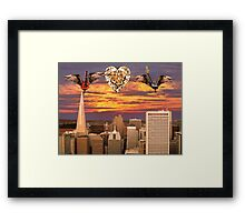 Saving All My Love For You Framed Print