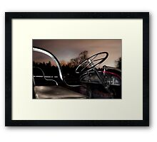 Cockpit Framed Print
