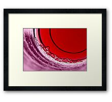 Bubbles III Framed Print