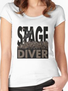 Stage Diver Women's Fitted Scoop T-Shirt
