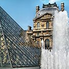 The Louvre' by Robyn Forbes