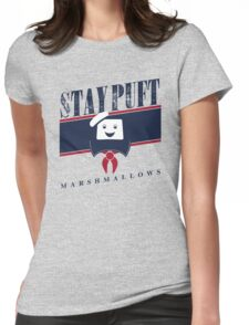 Stay Puft Marshmallows Womens Fitted T-Shirt