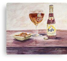 Leffe Blonde Canvas Print