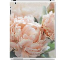 Peach Peonies iPad Case/Skin
