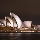 Sydney Opera House at Night by Llewellyn Cass