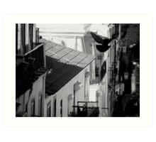 Streets of Lisbon Art Print