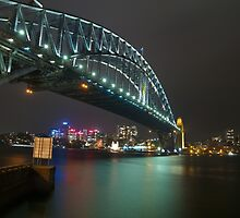 Sydney Harbour Bridge by Llewellyn Cass