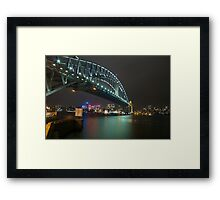 Sydney Harbour Bridge Framed Print