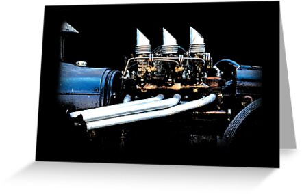 Rat Rod - Motor by blulime