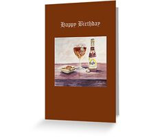 Leffe Blonde Birthday Greeting Card