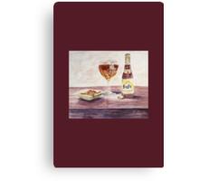 Leffe Blonde Card Canvas Print