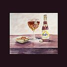 Leffe Blonde Greeting by Patsy L Smiles