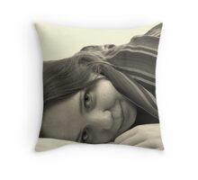 Becks Throw Pillow