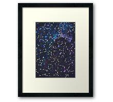 sky map Framed Print