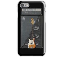 Bass and Amp iPhone Case/Skin
