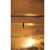 seaweed gatherer Photographic Print