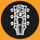 Gibson Headstock by eyevoodoo