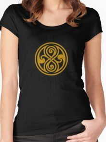 shirt of rassilon Women's Fitted Scoop T-Shirt