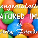 Feature Banner Fun Artsy Friends Group by Jenny Brice