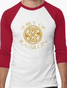 shirt of rassilon -gold Men's Baseball ¾ T-Shirt