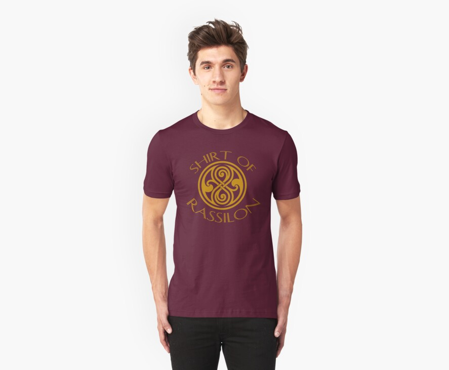 shirt of rassilon -gold by jammywho21