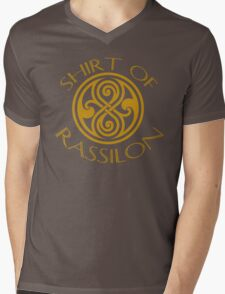 shirt of rassilon -gold Mens V-Neck T-Shirt